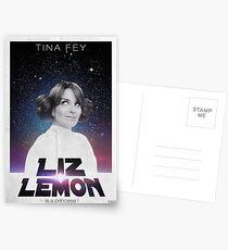 Liz Lemon is a princess ! Postkarten