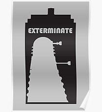 Dalek within Tardis Poster