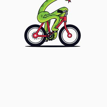 Snake Bike by SteveArmstrong