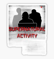 Supernatural activity Sticker