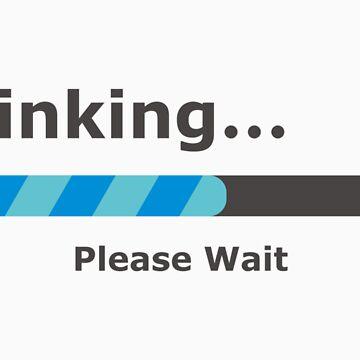 Thinking Please Wait Bar by Koniii