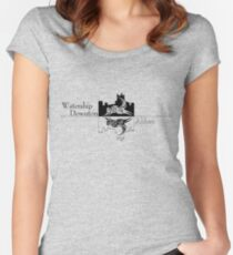 Watership Downton Abbey Women's Fitted Scoop T-Shirt