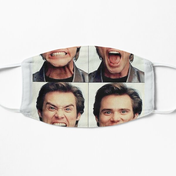 Jim Carrey faces in color      Mask