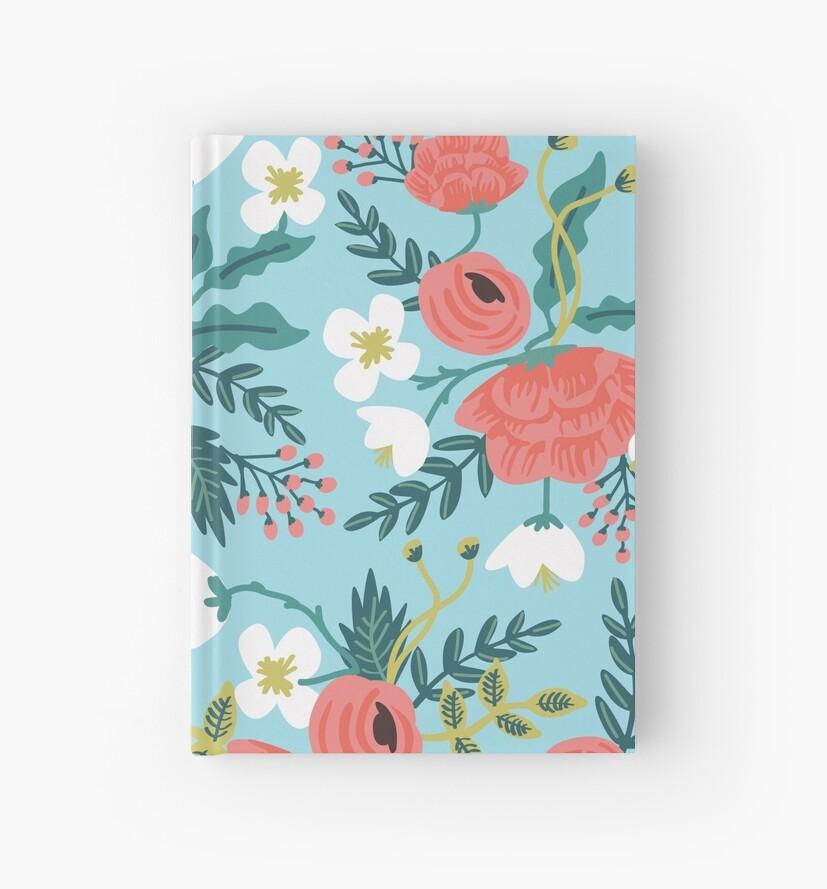 Spring Flower Pattern by Emily Hoehenrieder