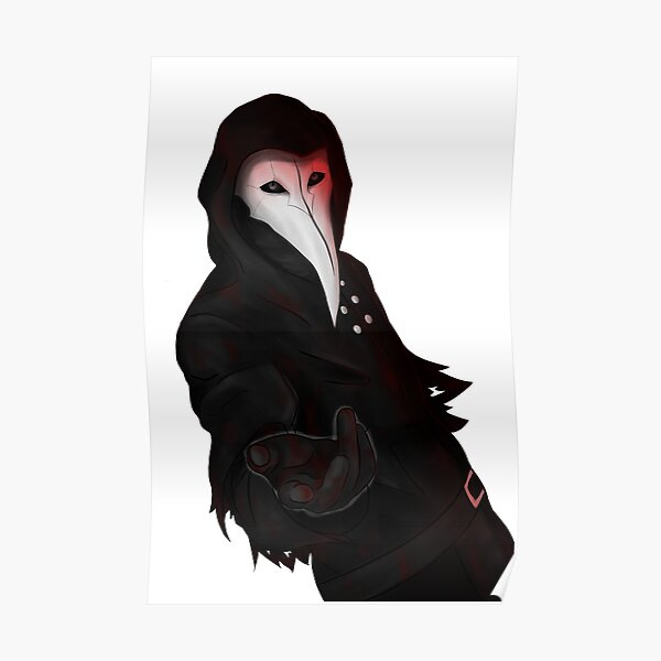 SCP-049 Plague Doctor Poster