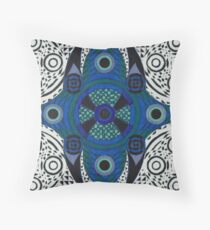 Abdominal Blueprint Throw Pillow