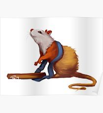 Science the Rat Poster