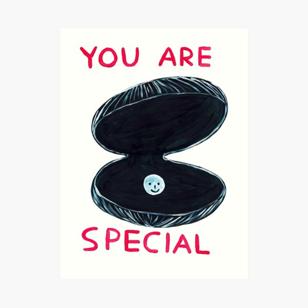 You Are Davids Gift Special Art Print