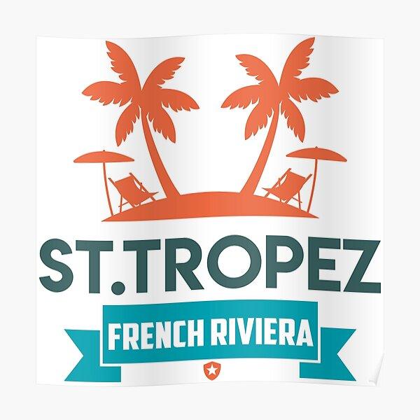SAINT-TROPEZ Poster