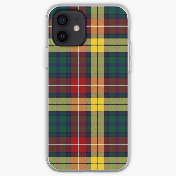 Buchanan Modern Hunting Tartan | Clan Buchanan | Cute Tartan iPhone Soft Case
