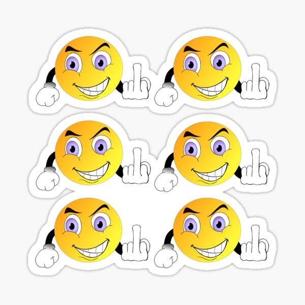 Fuck You Emoji Stickers pack Sticker