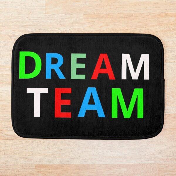 Dream Team Colourful Design Bath Mat