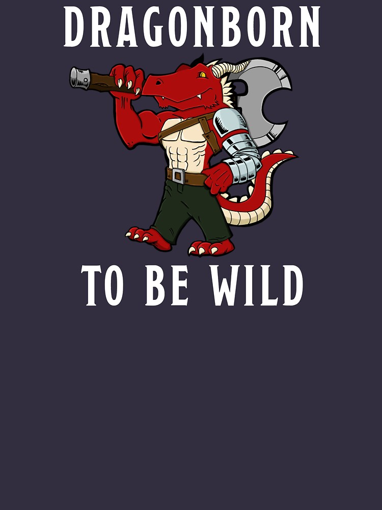 Dragonborn to be Wild by Icarus-Games