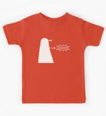 Exterminate (white) Kids Clothes