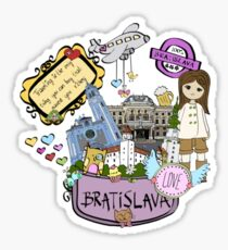 Traveling is the olny thing Sticker