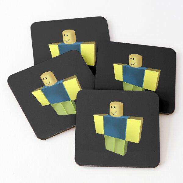 Noob, Dabbing Noob, Roblox  Coasters (Set of 4)