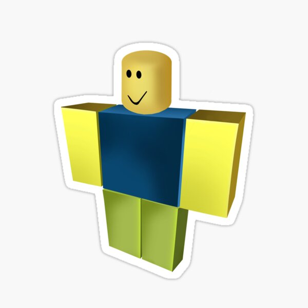 Roblox Noob Dabbing Decal The Hacked Roblox Game Noob For Girls Stickers Redbubble