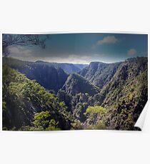 Dangars Falls Gorge, NSW Poster