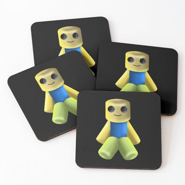 Tiny Noob, Noob, Dabbing Noob, Roblox  Coasters (Set of 4)