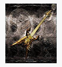 Heavy Metal Guitar Photographic Print