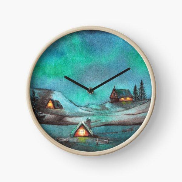 Jol in Norway Clock