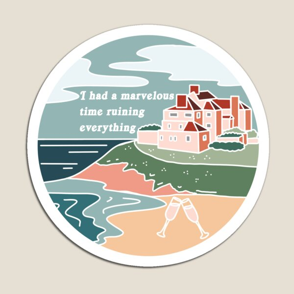 The Last Great American Dynasty Folklore Taylor Swift Inspired Magnet
