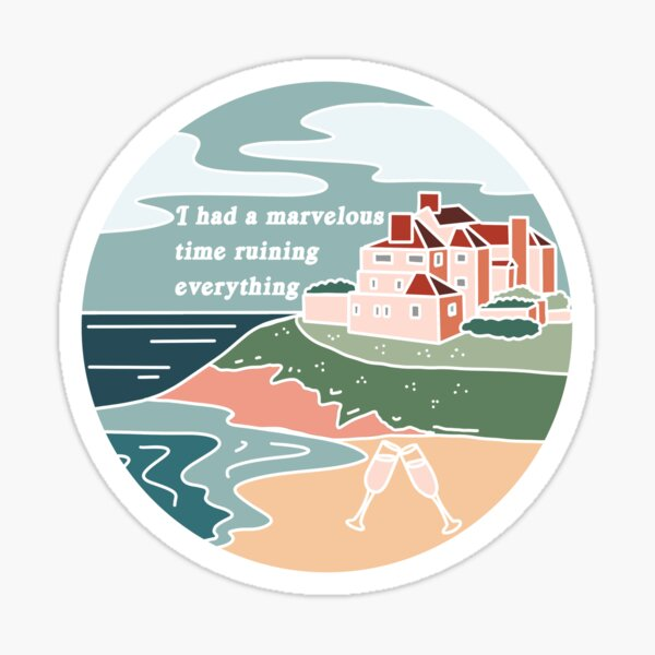 The Last Great American Dynasty Folklore Taylor Swift Inspired Sticker