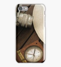 retro photograph camera iPhone Case/Skin