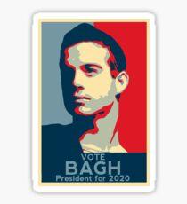 Alan Bagh - President 2020 - Birdemic Sticker