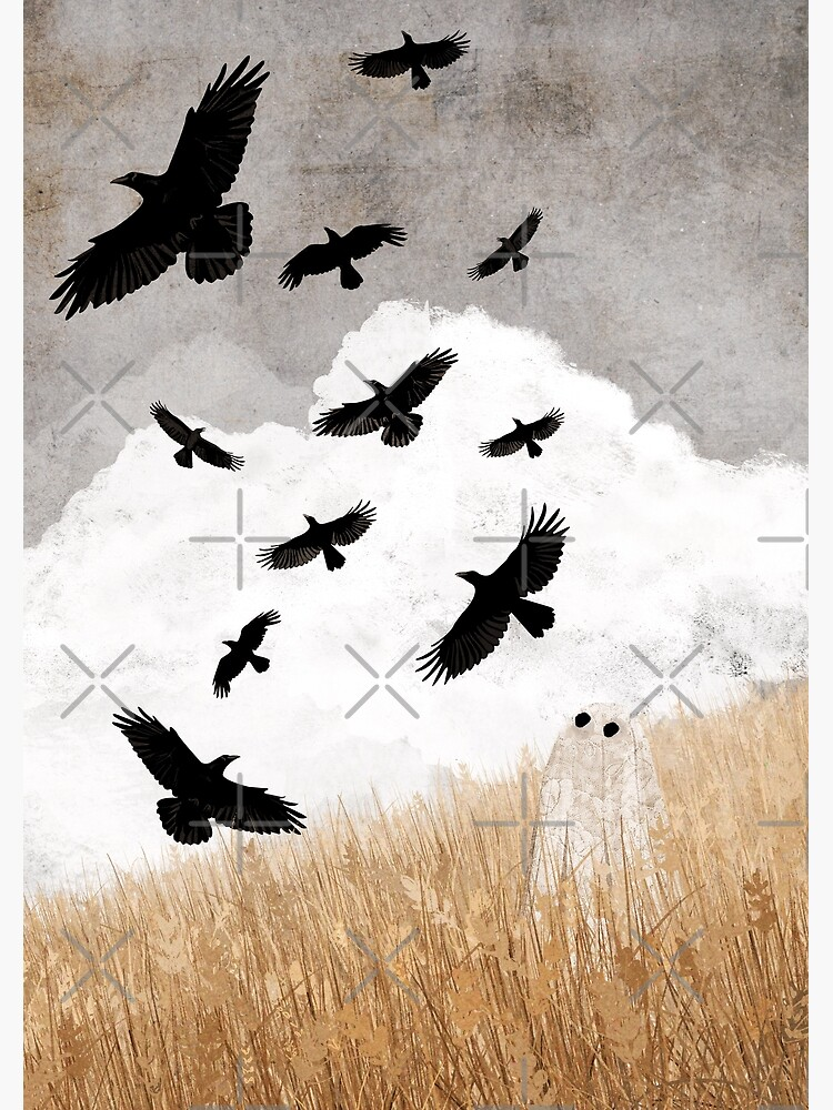 Walter and The Crows by katherineblower