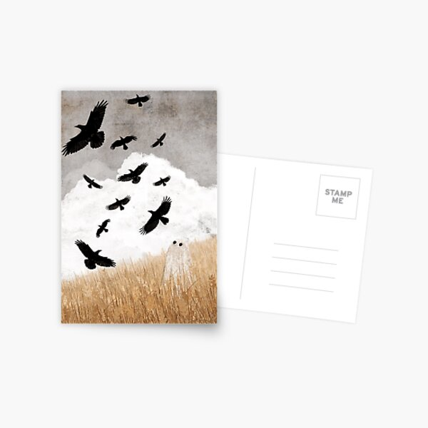 Walter and The Crows Postcard