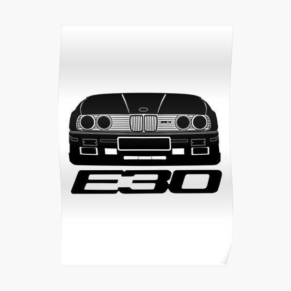 E30-Serie Poster