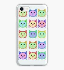 cat illustrations iPhone Case/Skin