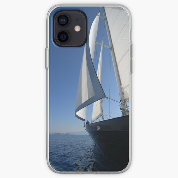 sailboat sailing iPhone Soft Case