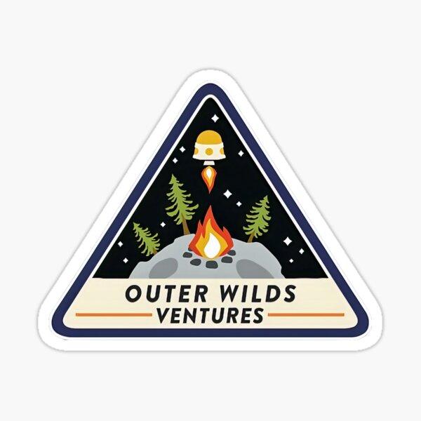 Outer Wilds Ventures Logo Sticker