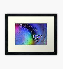 Bubbles. Framed Print