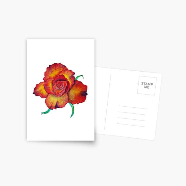 High & Yellow Magic Flame Postcard