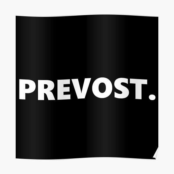 PREVOST. Poster