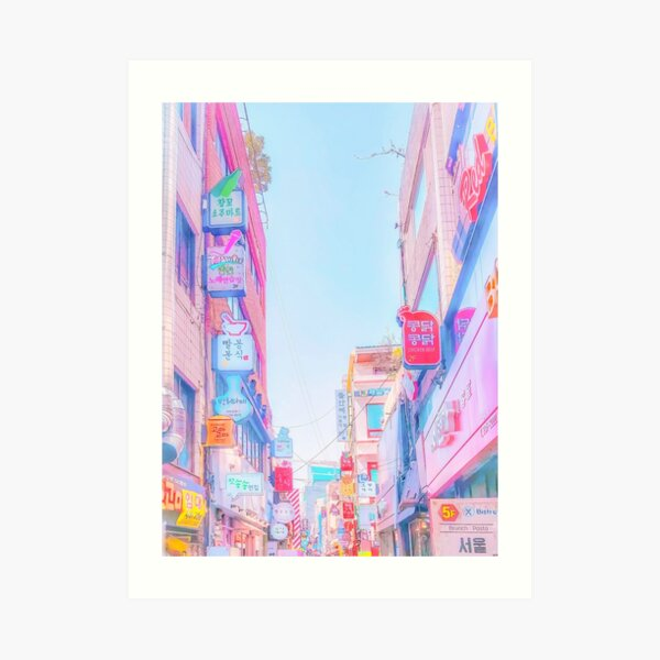 Anime Seoul (Soft Edition) Kunstdruck