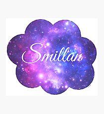 Smillan (White Font) Photographic Print