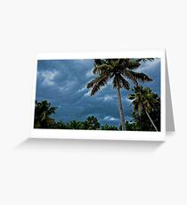 DARK CLOUDS Greeting Card