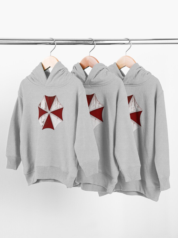 Alternate view of Umbrella Corporation Toddler Pullover Hoodie