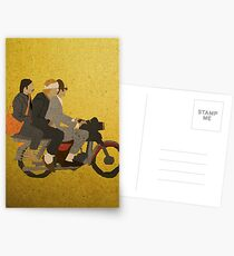 Motorcycle  Postcards