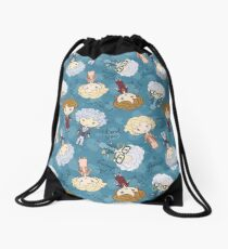 thank you for being a friend Drawstring Bag