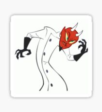 Dr, Satan Sticker