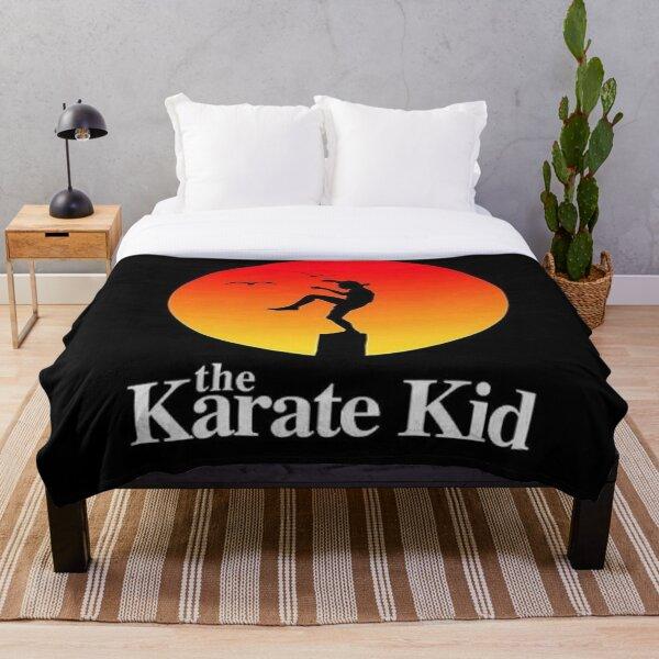the karate kid Throw Blanket