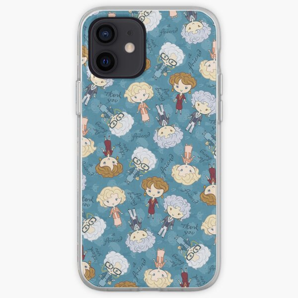 thank you for being a friend iPhone Soft Case