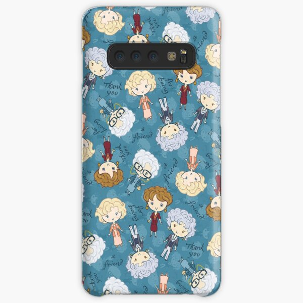 thank you for being a friend Samsung Galaxy Snap Case
