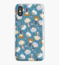 thank you for being a friend iPhone Case/Skin