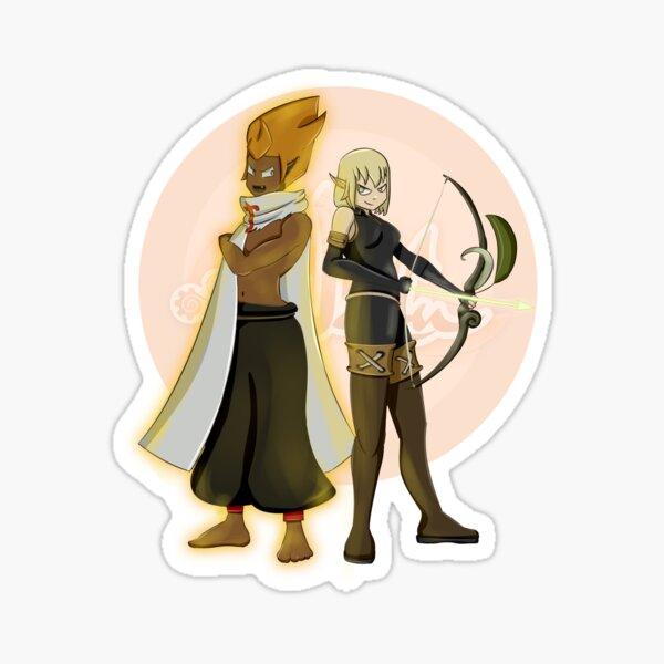 Eva and Pinpin Sticker